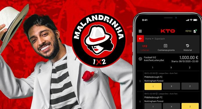 KTO apresenta a sua loteria esportiva para o mercado brasileiro