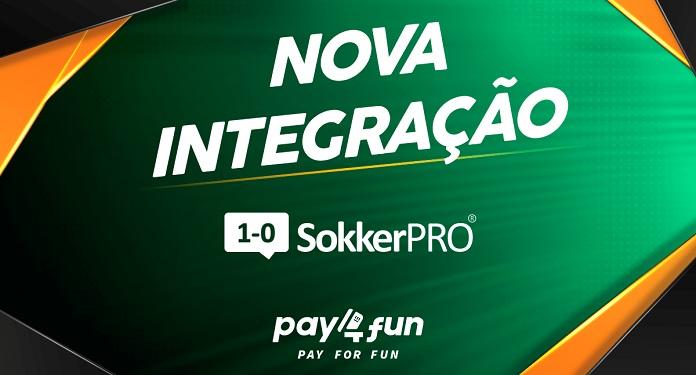 SokkerPRO, do mercado de apostas, é o novo parceiro da Pay4Fun