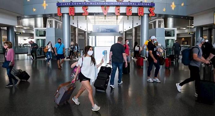 Aeroporto de Las Vegas registrou 1,8 milhão de passageiros em novembro