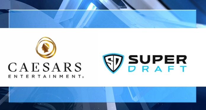 Caesars Entertainment announces deal with fantasy sports platform, SuperDraft