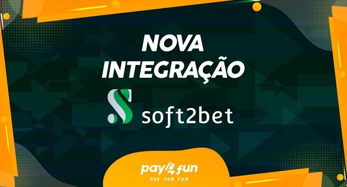 Com parceria com Soft2Bet, Pay4Fun alcança 137 sites integrados