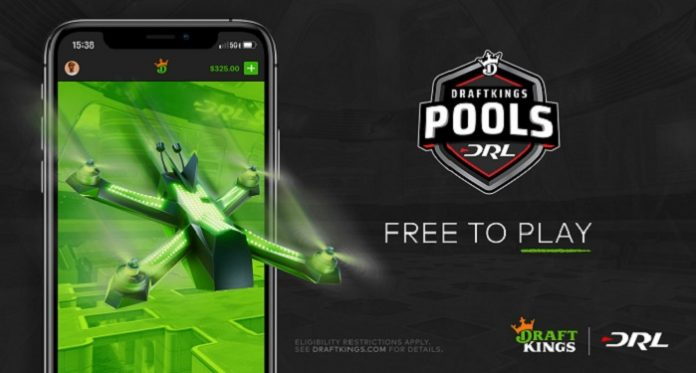 DraftKings é anunciada como parceira de apostas da Drone Racing League