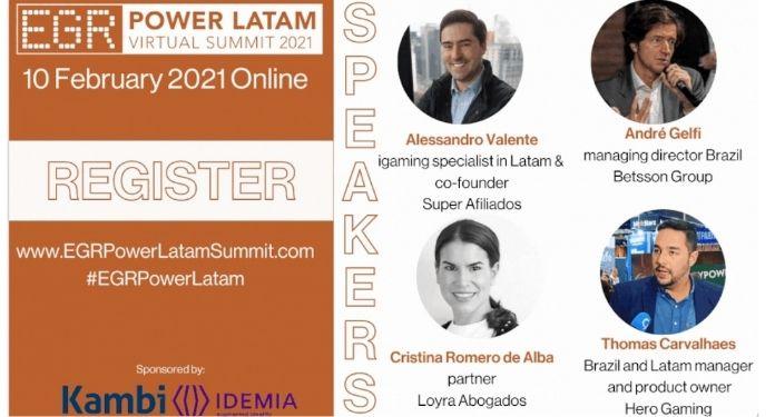 EGR Power LatAm Virtual Summit 2021 contará com a presença de brasileiros