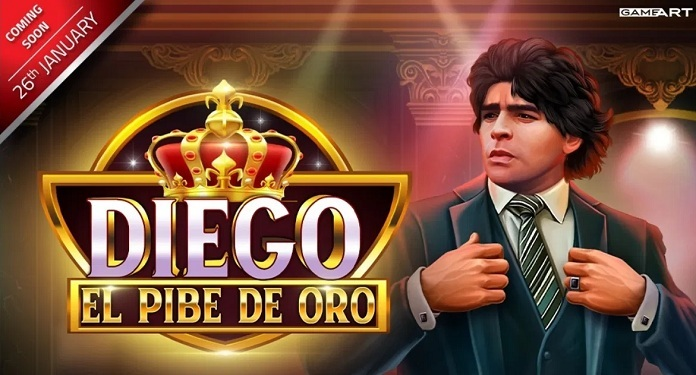 GameArt pays tribute to legend Diego Maradona in his new release