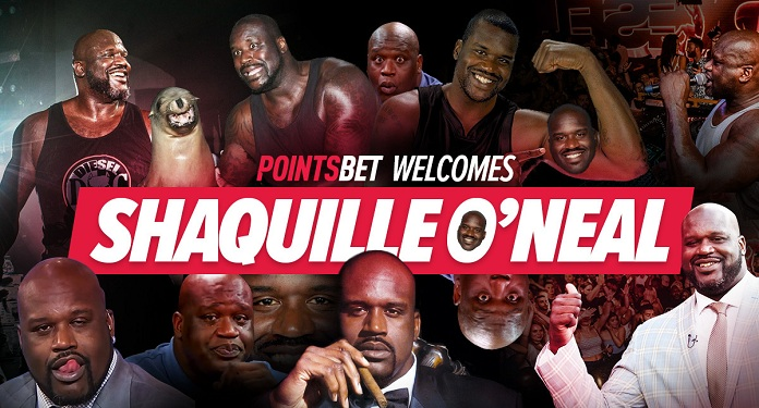PointsBet Announces Shaquille O'Neal as New Brand Ambassador