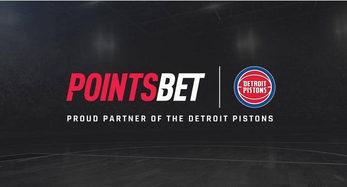 PointsBet torna-se parceira oficial de apostas esportivas do Detroit Pistons