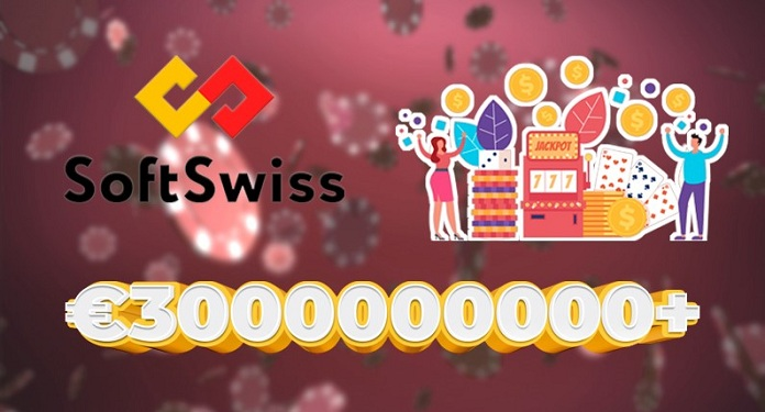 SoftSwiss breaks record of 3 billion euros in total bets in December