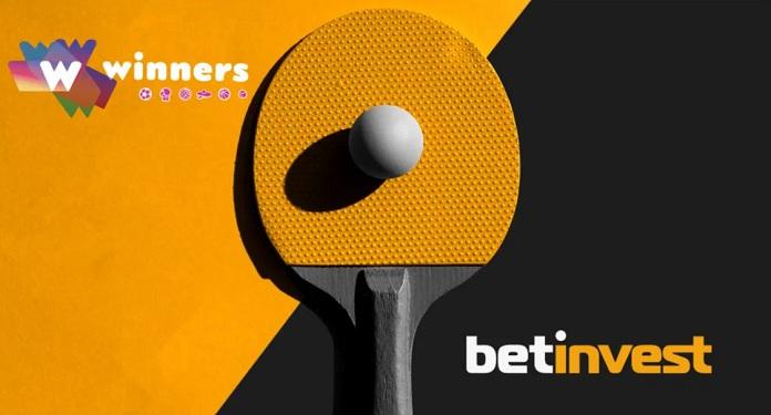 BetInvest oferece conteúdo de tênis de mesa para operadores de apostas esportivas