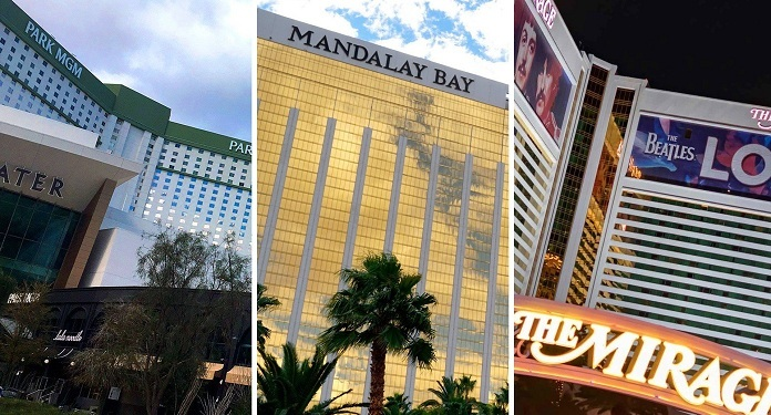 Mandalay Bay, Mirage and Park MGM will resume full-time operation in March