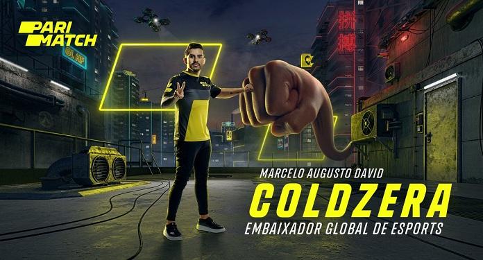 Parimatch anuncia jogador de eSports brasileiro, Coldzera, como seu novo embaixador