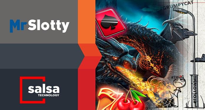 Salsa Technology assina acordo para troca de conteúdo com MrSlotty