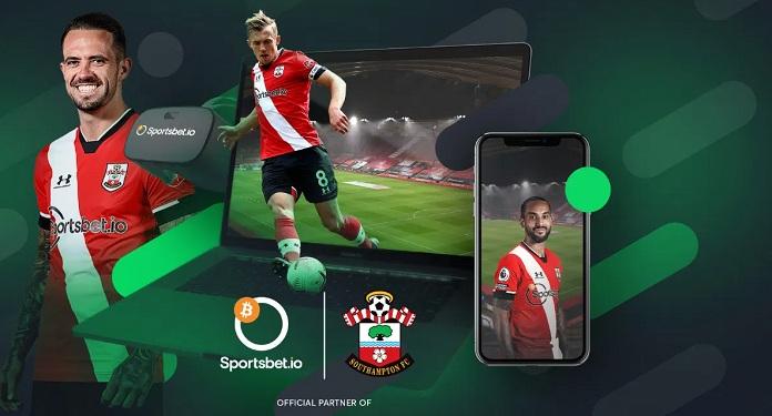 Sportsbet.io apresenta novas ativações virtuais para fãs do Southampton