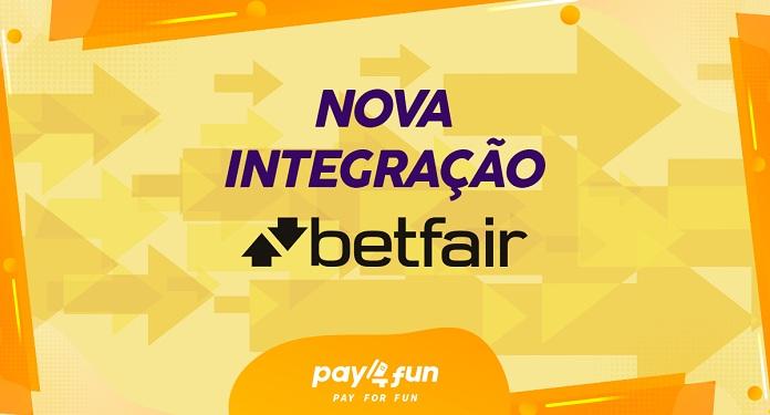 Betfair é a mais nova parceira da Pay4Fun