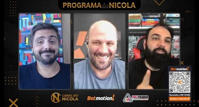 Com quadro diário sobre apostas, Betmotion torna-se patrocinador máster do Canal do Nicola