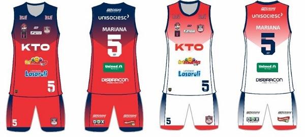 KTO é a nova patrocinadora master do basquete feminino de Blumenau