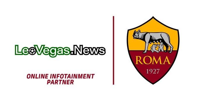 LeoVegas torna-se parceira oficial de entretenimento online da Roma, da Itália