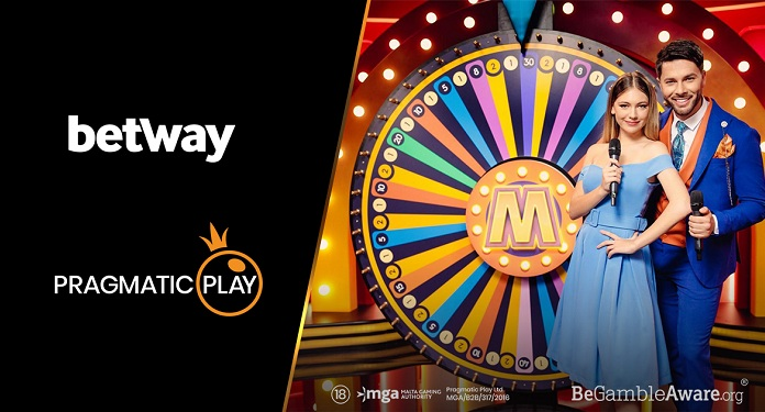 Pragmatic Play expands partnership with Betway with live casino titles