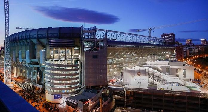 Real Madrid plans to open a casino at its Santiago Bernabéu stadium