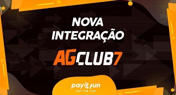 Visando expansão no cenário nacional, AGClub7 integra Pipa Games e Pay4Fun