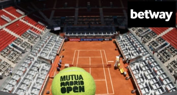 Betway becomes sponsor of the Madrid Open