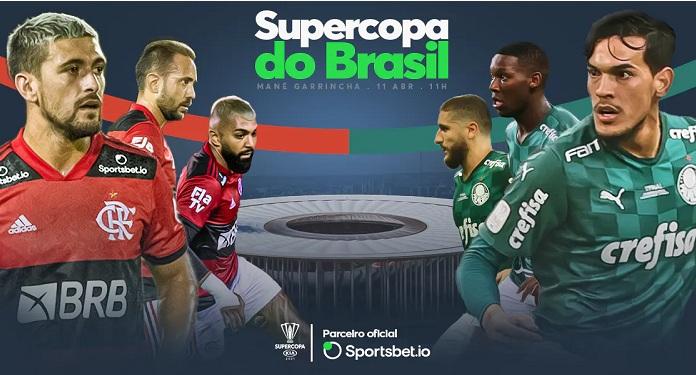 Depois de anunciar patrocínio na Copa do Brasil, Sportsbet.io fecha parceria com Supercopa do Brasil