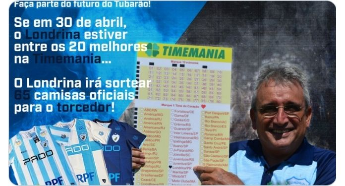 Londrina intends to stimulate fans to expand collection with Timemania