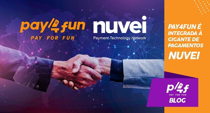 Pay4Fun anuncia integração a gigante do setor de pagamentos Nuvei
