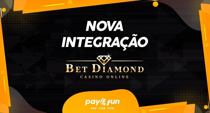Pay4Fun formaliza parceria com o BetDiamond Casino Online