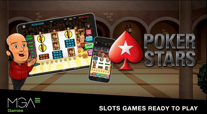 PokerStars incorporará jogos de caça-níqueis premium da MGA Games