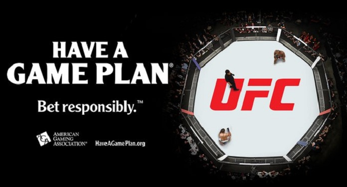 UFC joins AGA's responsible sports betting campaign