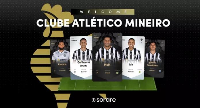 Após fechar com Sorare, Atlético-MG torna-se primeiro time do Brasil a ter cards digitais de jogadores