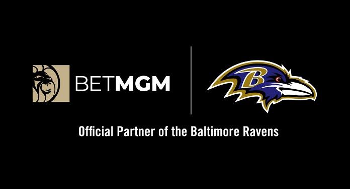 BetMGM é anunciado como 'primeiro parceiro oficial de jogo' do Baltimore Ravens