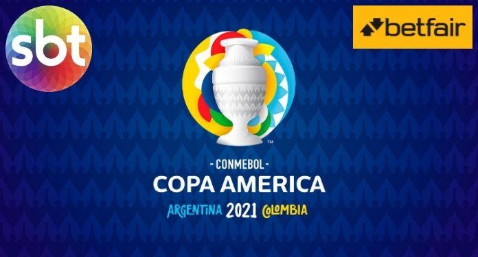 Betfair will sponsor Copa America 2021 broadcasts on SBT