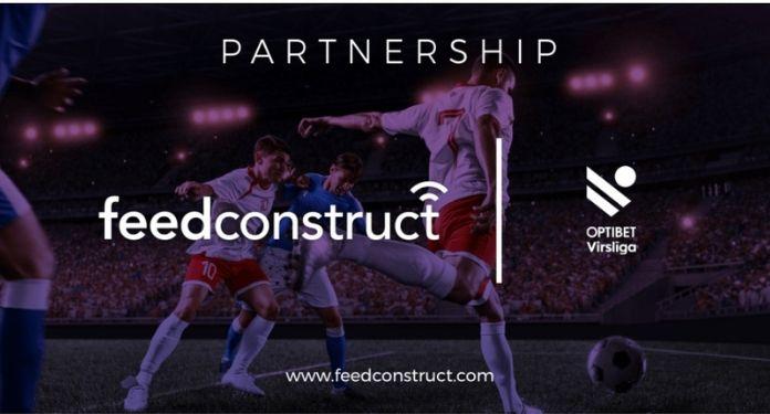 FeedConstruct anuncia parceria com a Optibet Virsliga