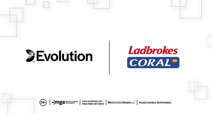 Jogos da Evolution são lançados nas plataformas da Ladbrokes, Coral e Gala no Reino Unido