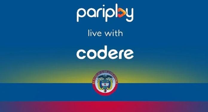 Jogos da Pariplay são lançados na Colômbia na plataforma da Codere