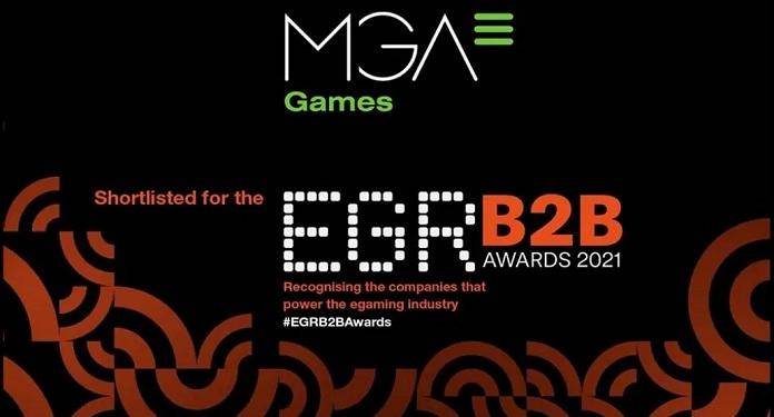 MGA Games é indicada ao EGR B2B 2021 Awards