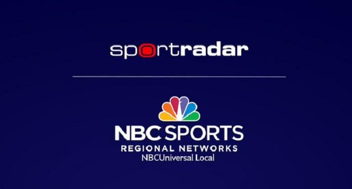 Sportradar amplia acordo de dados com a NBC Sports Regional Networks