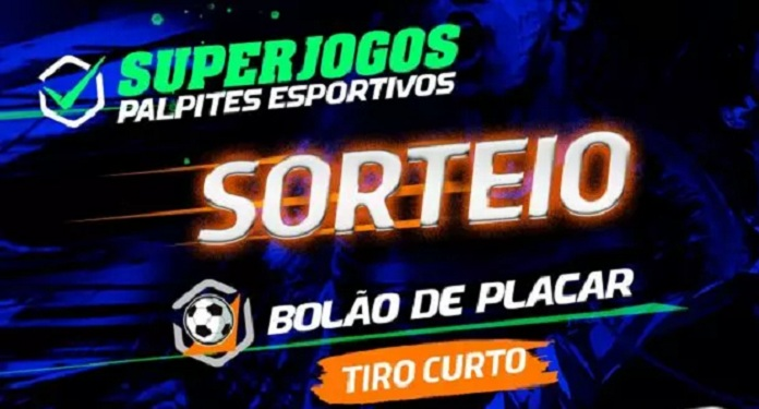 Superjogos Palpites Esportivos announces daily games and sweepstakes