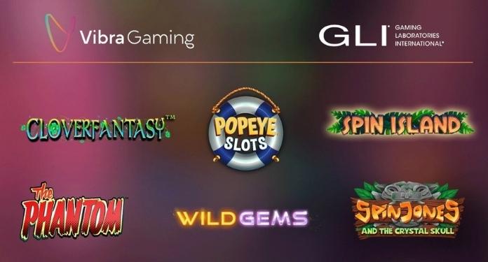 Vibra-Gaming-obtains-GLI-certification
