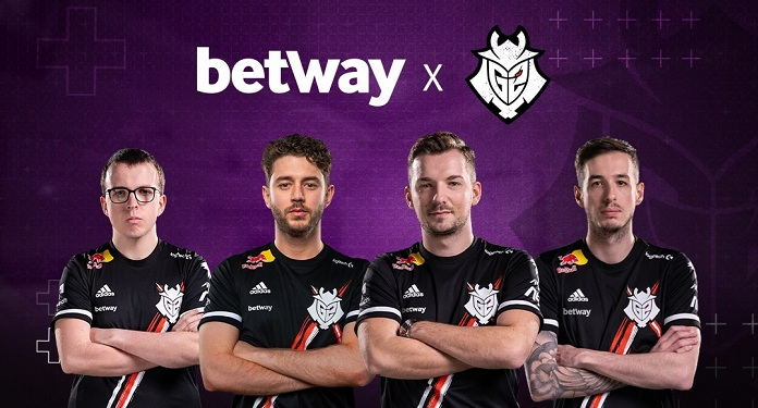 Bookmaker Betway becomes a sponsor of the G2 Esports team