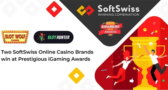 Duas marcas de cassino online da SoftSwiss são premiadas no AskGamblers Awards