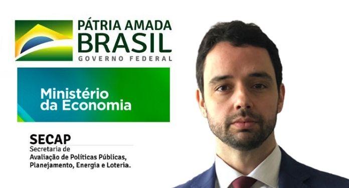 Gustavo José Guimarães e Souza é nomeado novo secretário da Secap