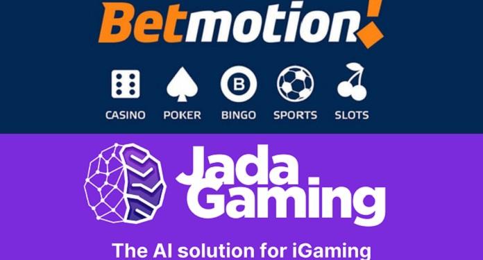 Jada Gaming faz parceria com Betmotion para ampliar oferta online