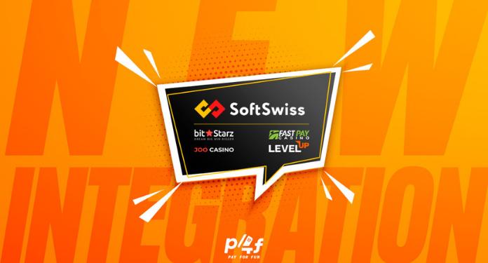 Pay4Fun-anuncia-integracao-com-a-SoftSwiss
