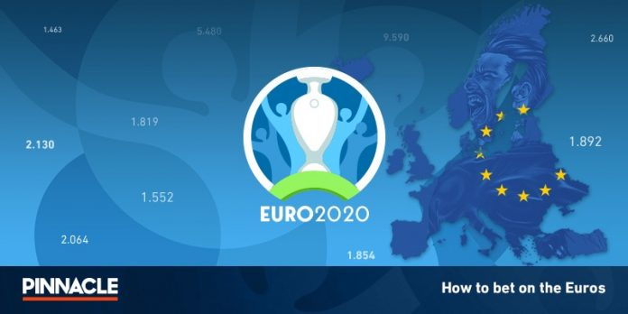 Pinnacle-offers-limits-on-US-500-thousand-on-bets-on-Euro-2020