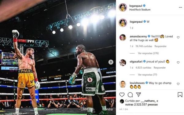 Registro da luta entre Floyd Mayweather e Logan Paul gera suspeita de manipulação de resultado