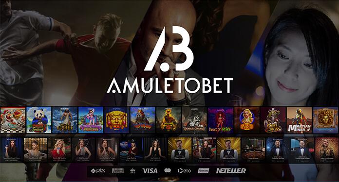 Amuletobet desembarca com o pé direito no Brasil e chega para trazer 'sorte nas apostas'