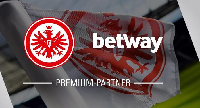 Betway torna-se parceira oficial de apostas do Eintracht Frankfurt