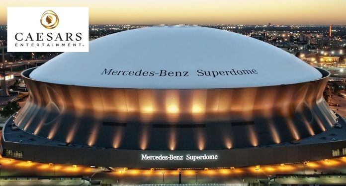 Caesars-Entertainment-Pays-US138-Million-For-Superdome-Naming Rights